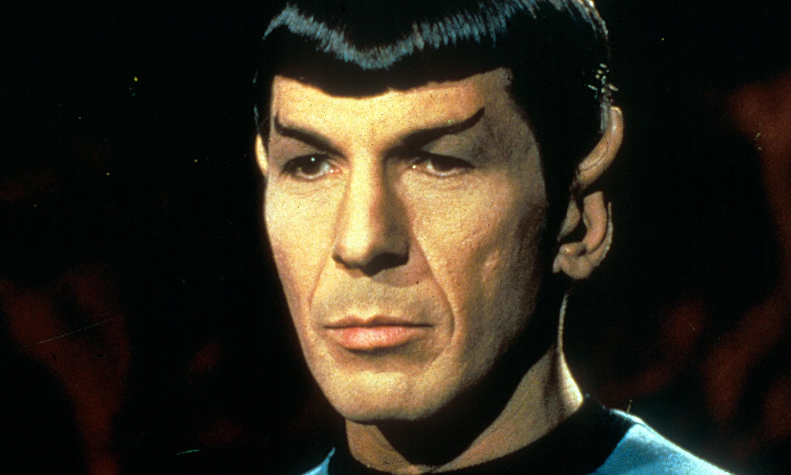 Leonard Nimoy as Mr Spock in Star Trek. Photograph: Moviestore Collect