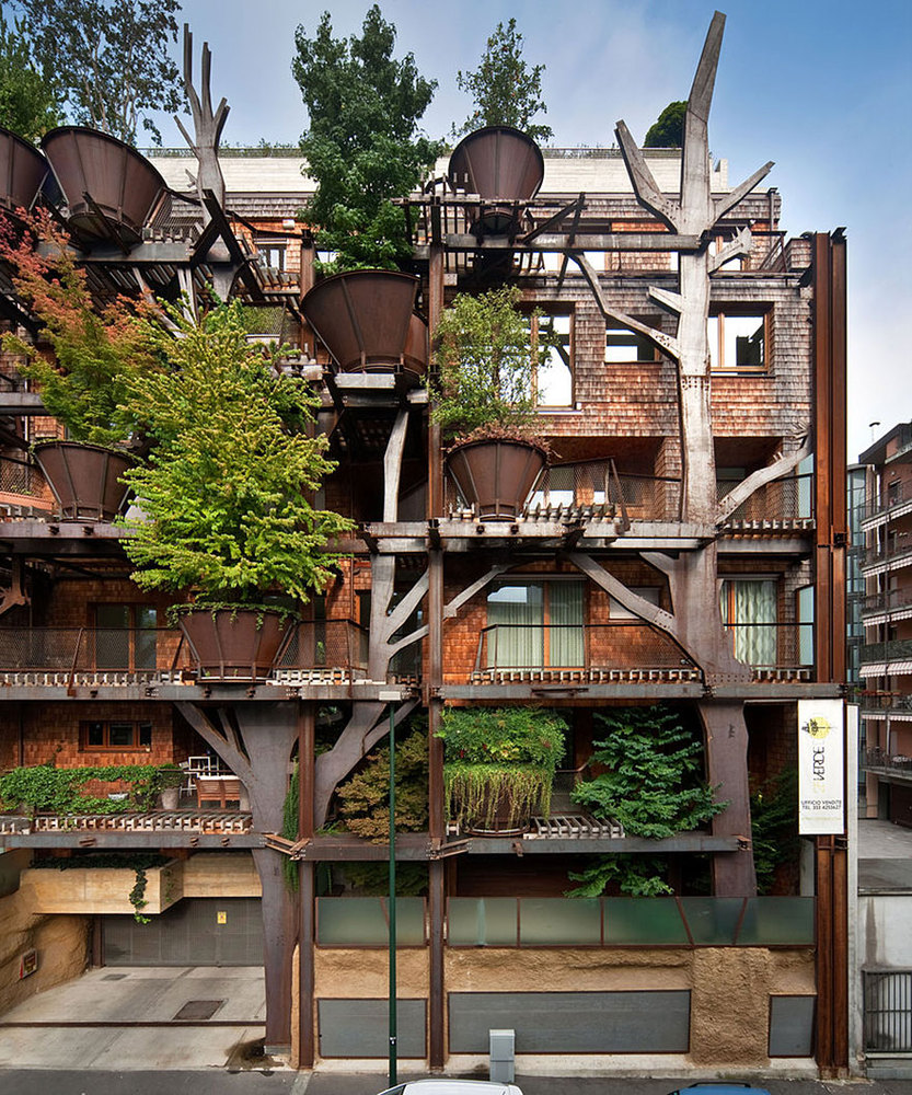 Gardenvillage Apartments: Photos Of Beautiful Treehouse Apartments In Italy