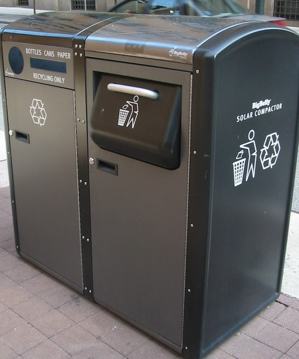Smart trash cans in NY expanding Wi-Fi hotspots