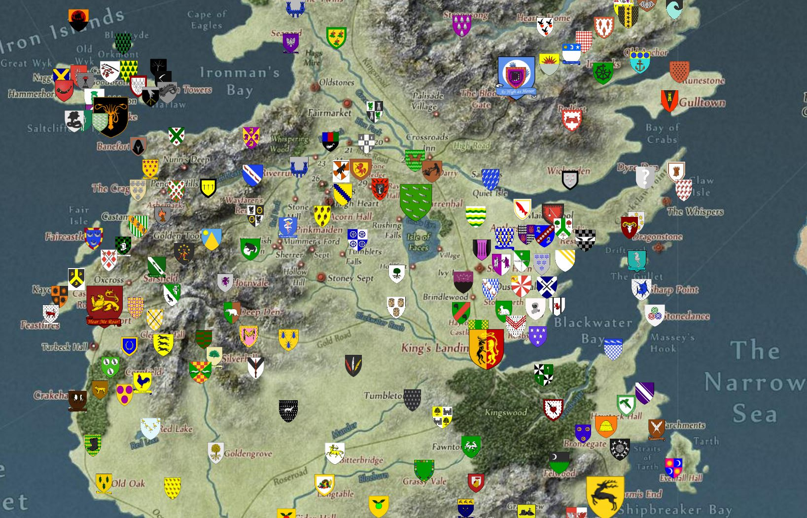 detailed map of game thrones with Interactive Map Of Game Of Thr on The Maps Of A Song Of Ice And Fire Fan Maps together with Ultimate Guide To Turning Minecraft Into A Game Of Thrones Sandbox in addition Behold The Interactive Map Of Faerun likewise More Maps Of Westeros besides Age Of Empires 2 Hd The African Kingdoms.