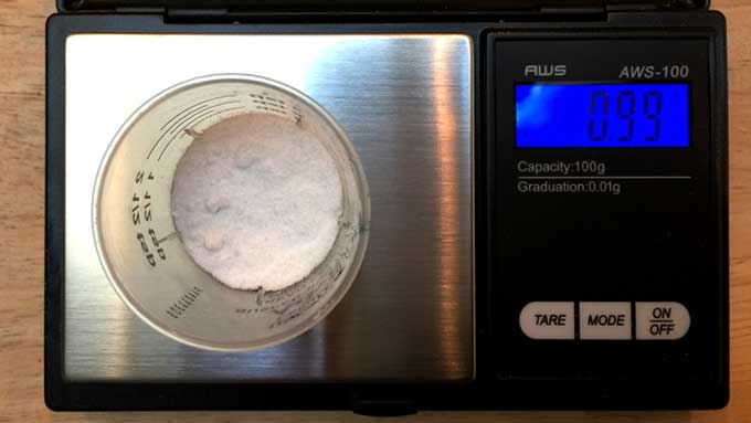 100g digital scale with 0.01g divisions for $10