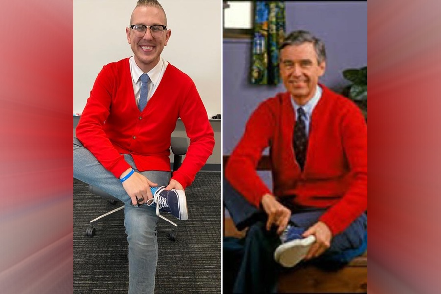 A Mister Rogers Cosplay To Get You Ready For A Beautiful Day In The Neighborhood Boing Boing